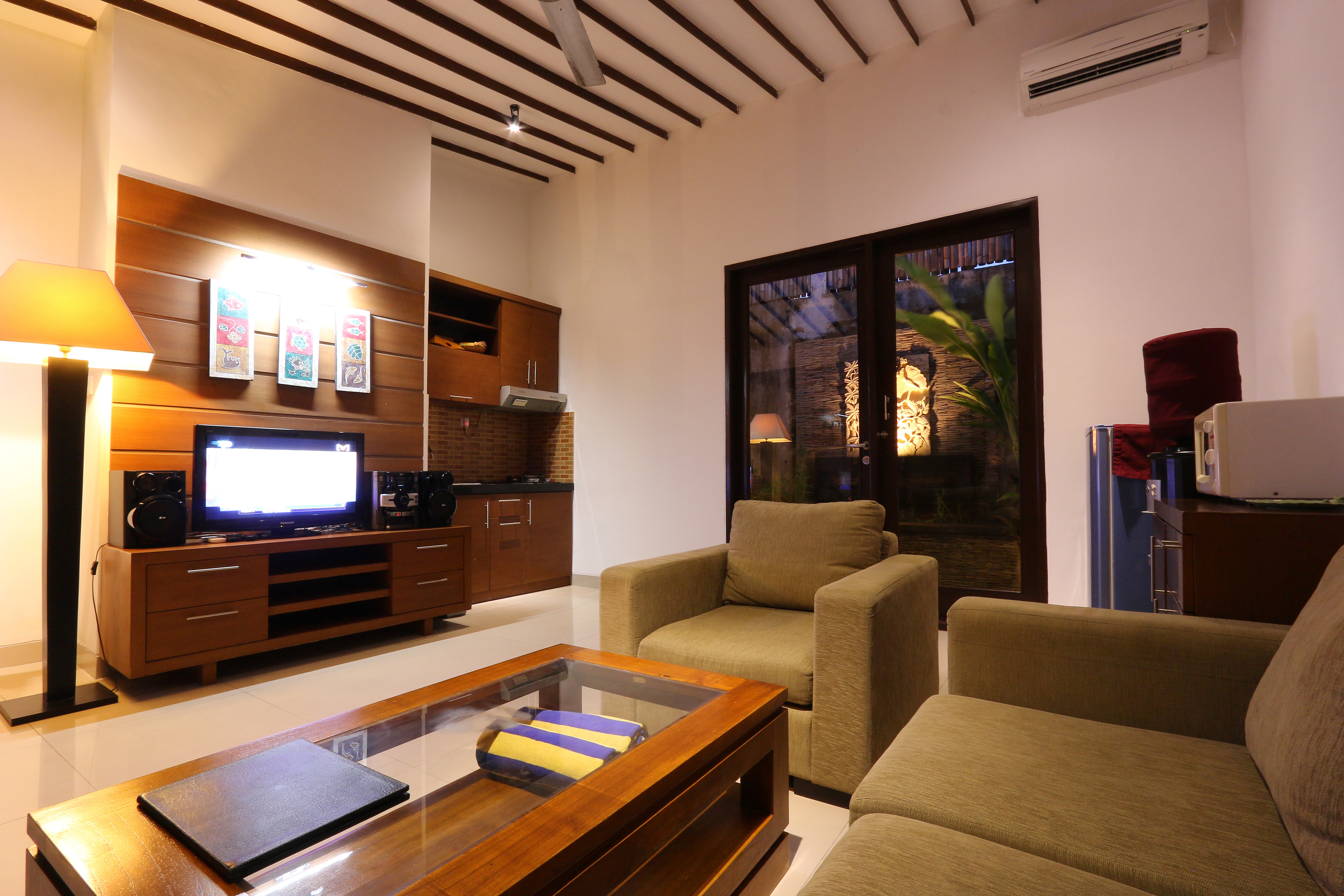 Living Room One Bedroom Villas (2)