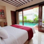 Bedrooms - One Bedroom Villa